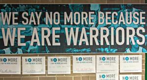 NO MORE Project raises domestic violence awareness