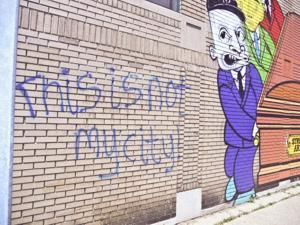 Metro Detroit street art project inspires, offends