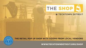 THE SHOP @ TechTown provides retail space near campus