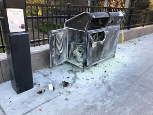 Cigarette-linked trashcan fire raises questions on 'smoke free' campus