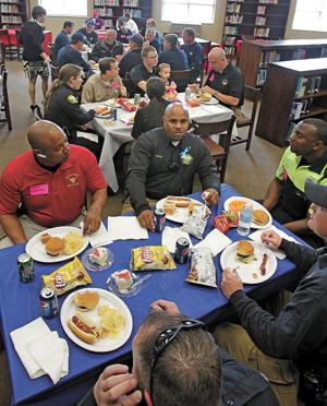 Firefighters, police guests of honor at Heroes Luncheon