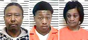 Father, mother, son face drug charges