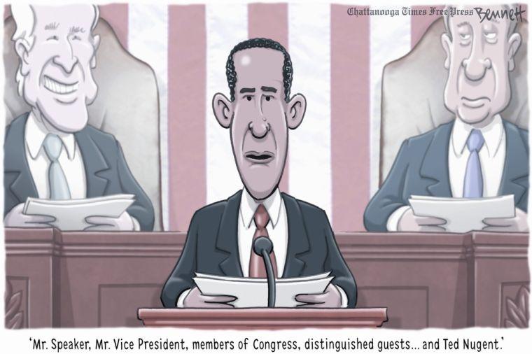 Today's editorial cartoon