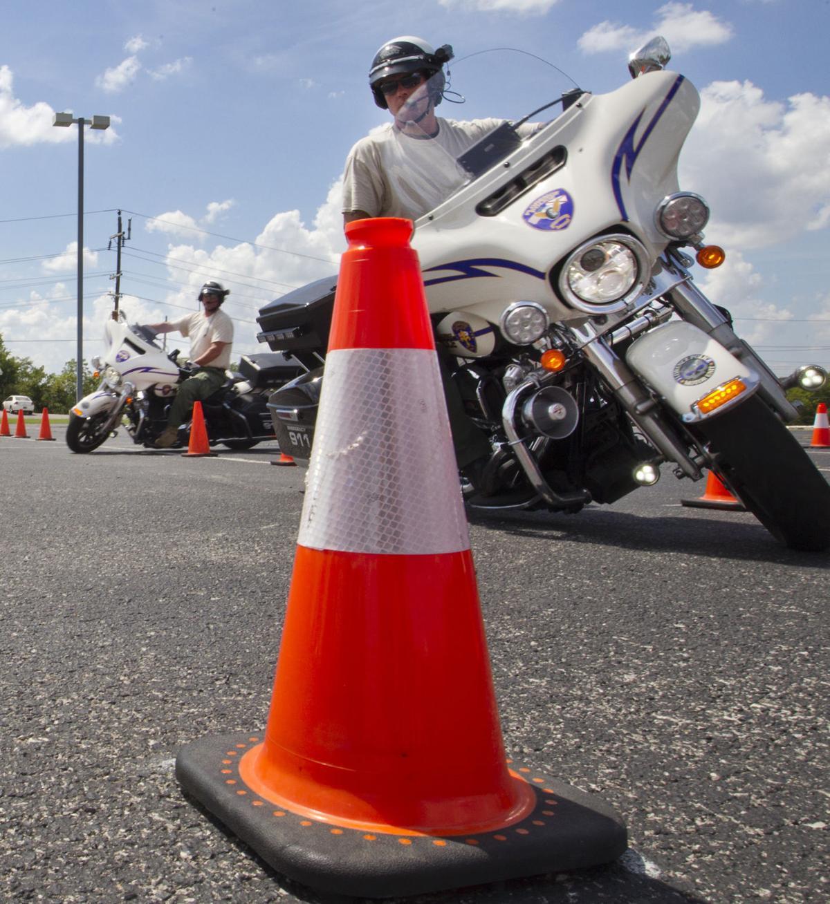 Florence police motor patrol training gallery Gurley motor