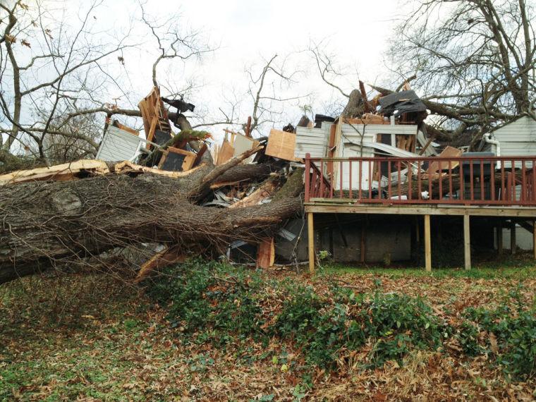 Crushed Sheffield home part of Alabama damage