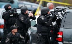 Authorities: 1 Boston bomb suspect dead; manhunt for 2nd