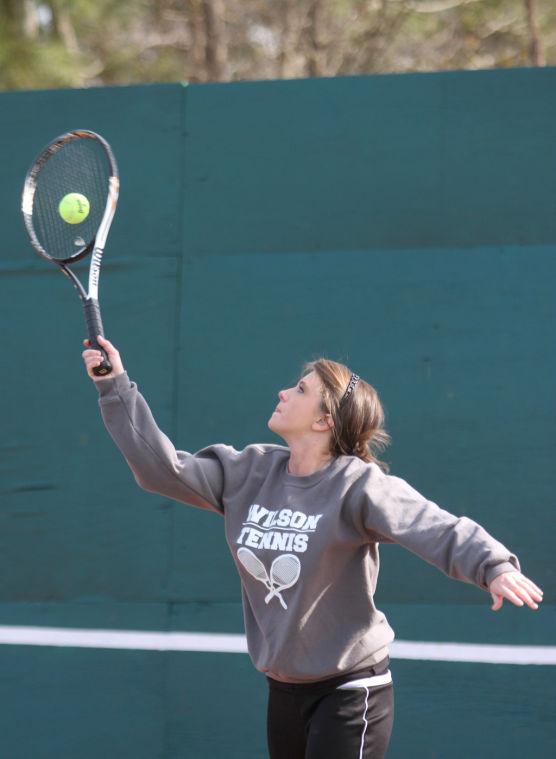 Wilson at Brooks Tennis