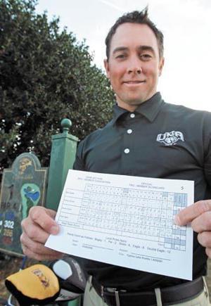 UNA golf coach cards 59