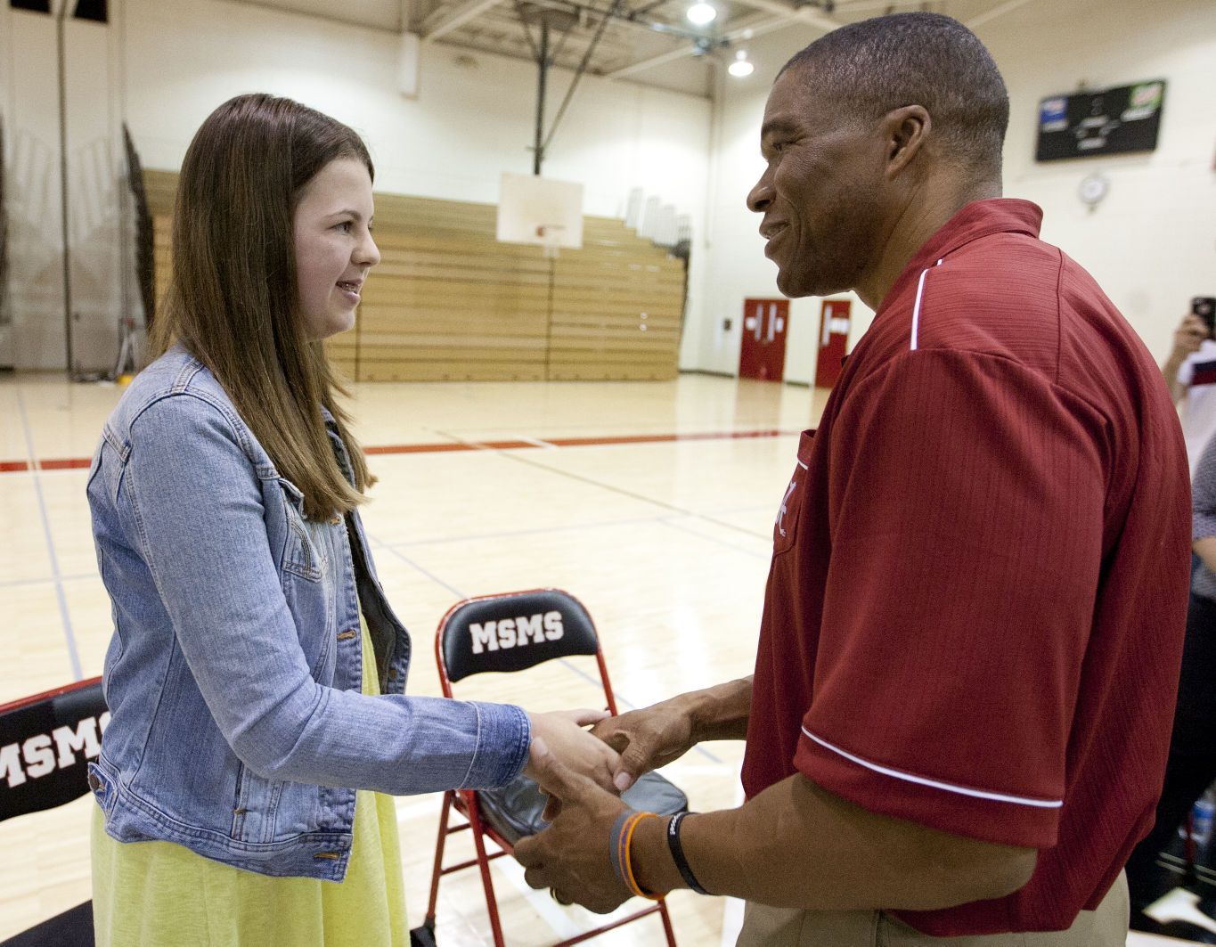 Muscle Shoals Middle Schooler Greer Underwood Awarded The