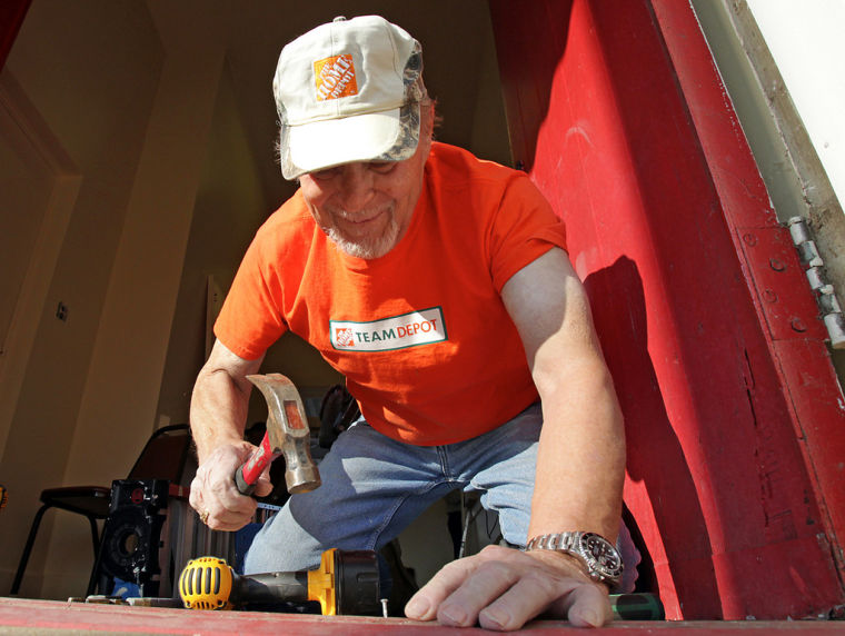 Volunteers renovate American Legion kitchen