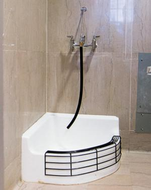 Mop sink sparks controversy