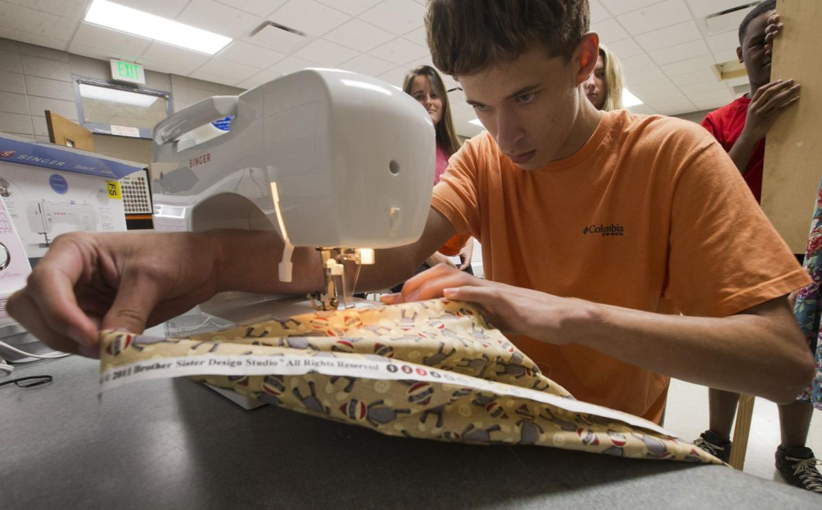 Partnership Provides Schools With Sewing Machines Local