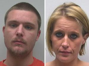 Two arrested in connection with stolen credit cards