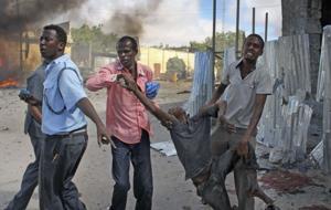 Car bomber kills 5 in Somali capital