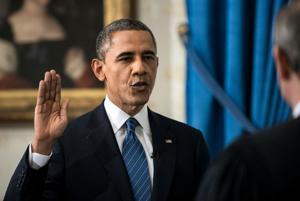 Obama celebrates beginning of 2nd term