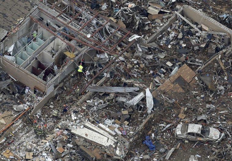 Aftermath of Moore, Okla., Tornado