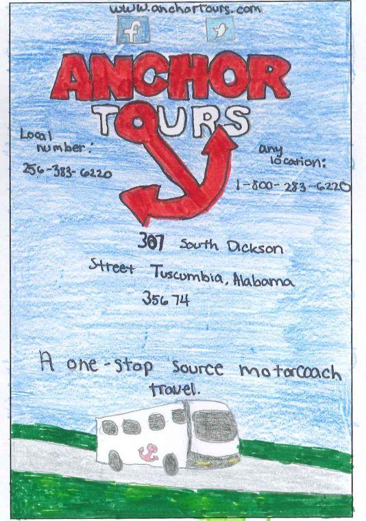 Td design an ad anchor tours winner anchor tours winnergabrielle