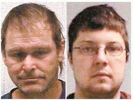 Men accused of theft