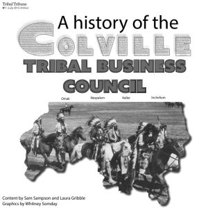 History of The Colville Tribal Business Council