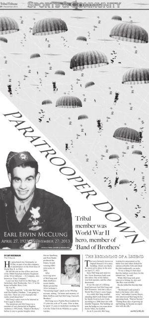 Paratrooper Down