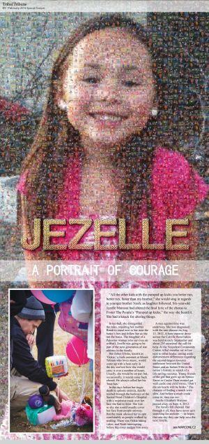Jezelle - A Portrait of Courage