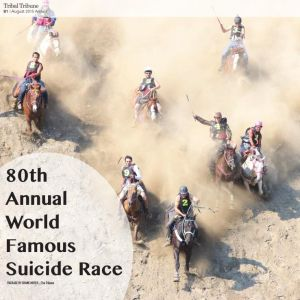 80th Omak Stampe Suicide Race and Indian Encampment