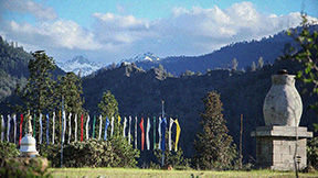 <p>A calm view at the Gonpa in Junction City.contributed</p>