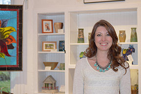 <p>Artist Shanna Franceschini, the new gallery manager, welcomes you to the Highland Art Center.</p>