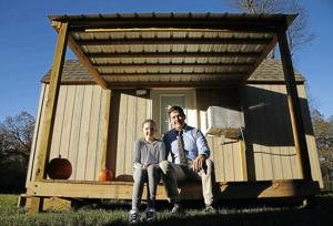 Broken Arrow dad daughter take on tiny home lifestyle to save for