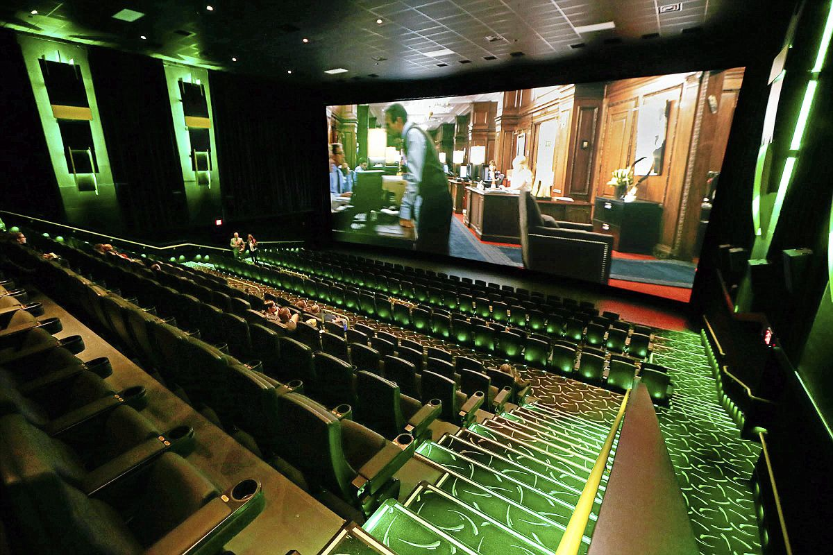Photo Gallery See Inside The New Movie Theater At Tulsa Hills