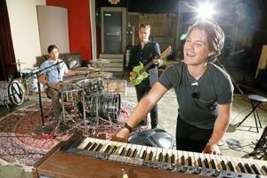 Hanson in studio