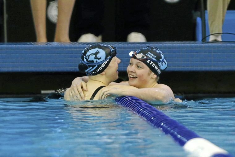 6A State Swim