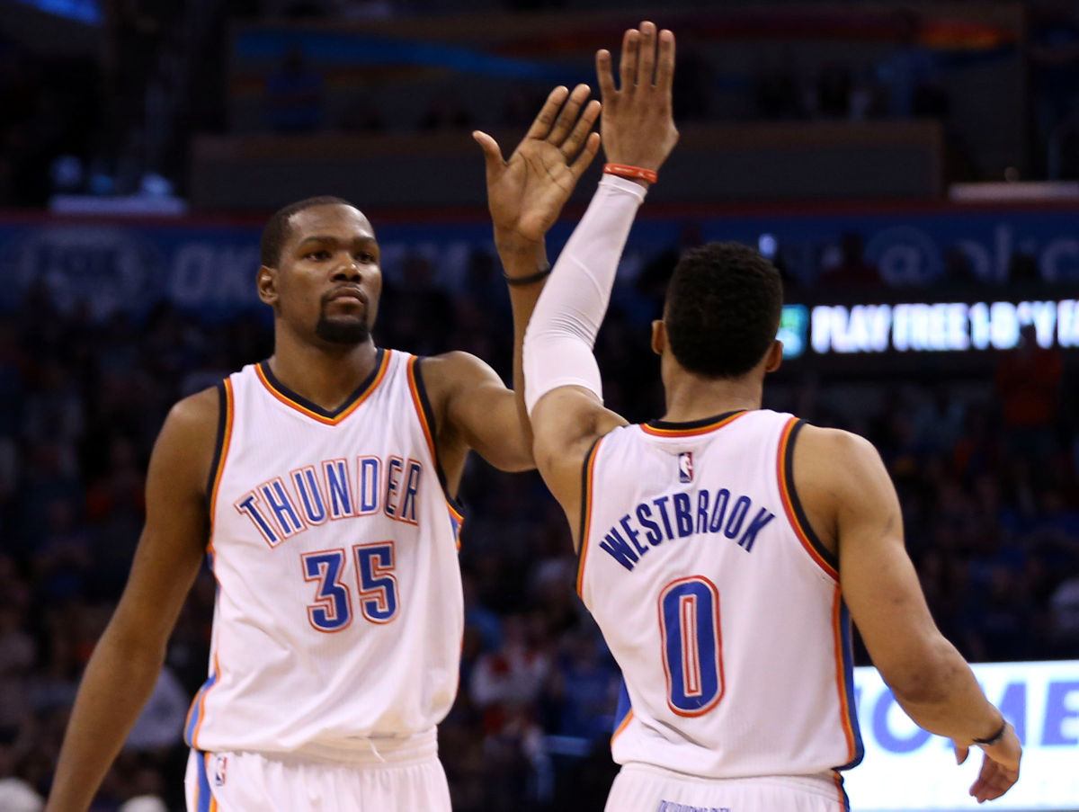 Durant's 28 points leads Thunder over Celtics
