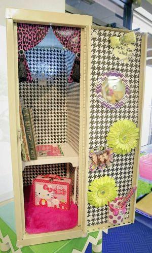 Locker decor allows teens to deck the hallways - Home & Garden ...