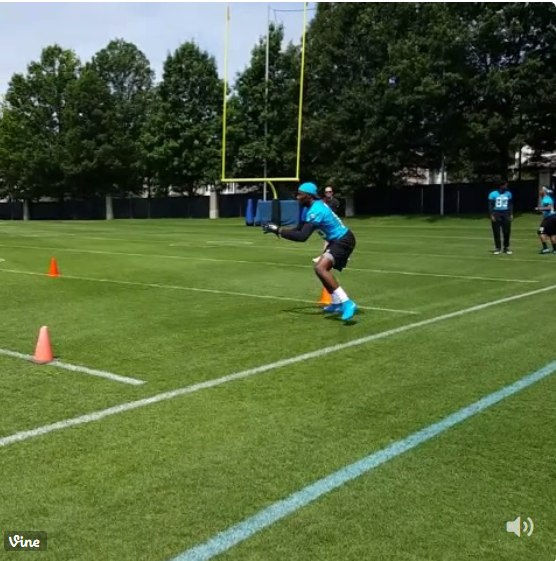 NFL Jerseys Cheap - TU Sports Extra - Panthers rookie receiver Keyarris Garrett moving ...