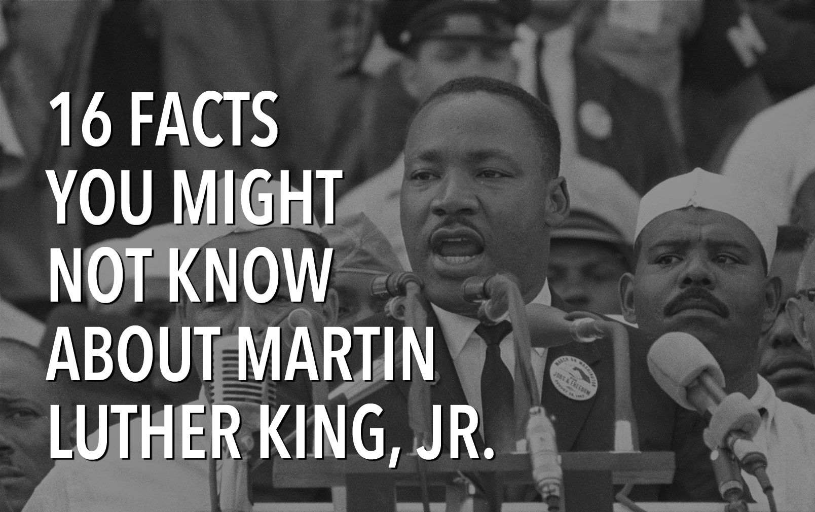 12 Interesting Martin Luther King Jr Facts You May Not Know