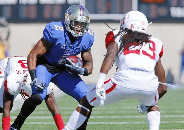 Tulsa receiver Keevan Lucas out for season with knee injury
