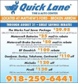 Matthews Ford Broken Arrow Ok