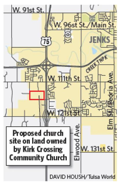 Kirk Crossing Church To Appeal Jenks Decision On Building Site Tulsa World Jenks