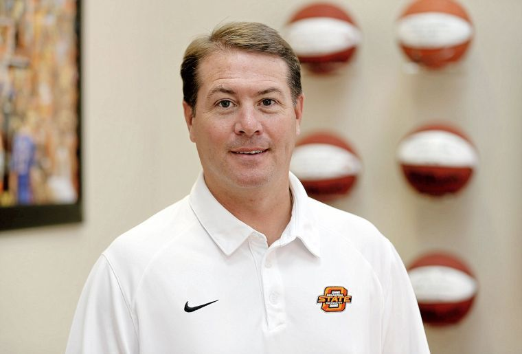 Coach Travis Ford Poses