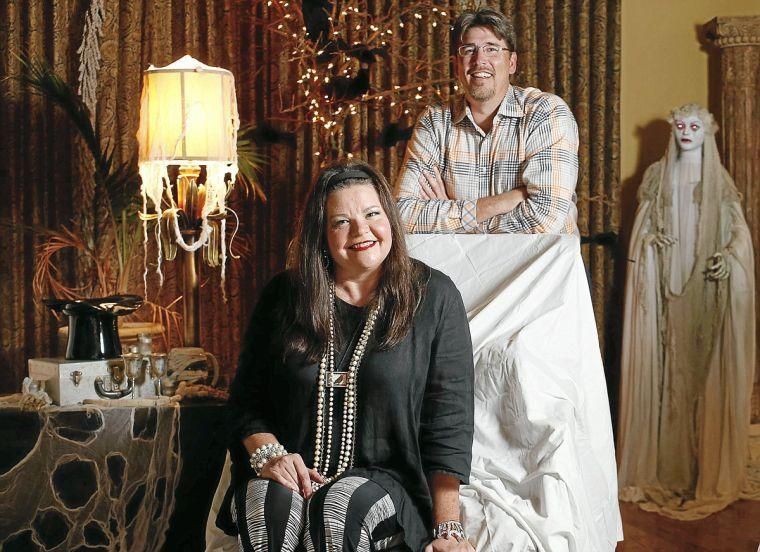 Photo gallery: Owasso family tricks out home for Halloween ...