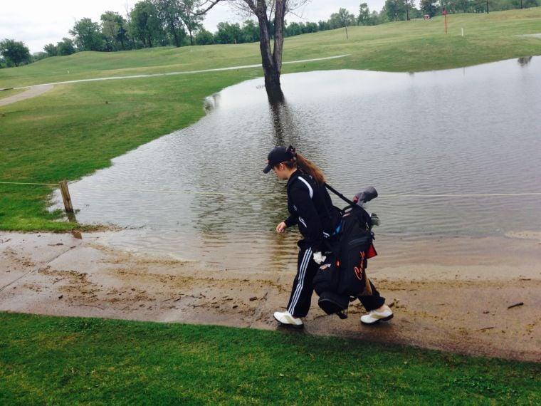Golf rain May 2015