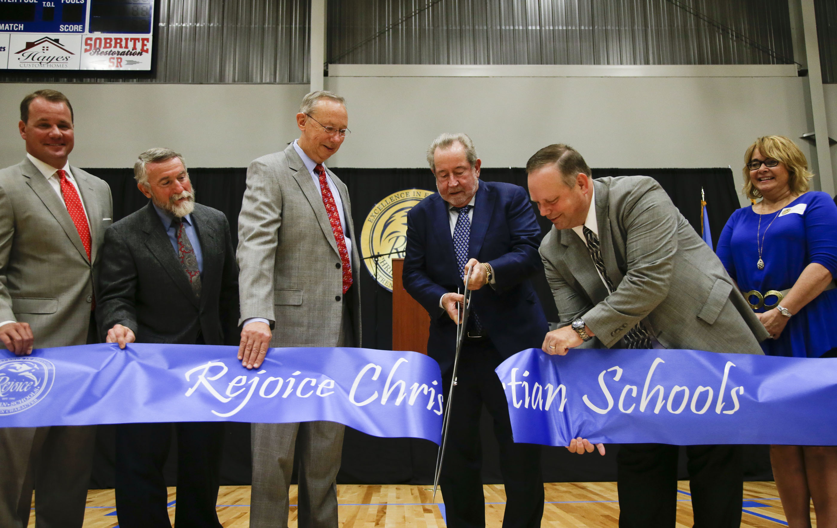 Photo Gallery: Rejoice Christian Schools Dedication Ceremony: www.tulsaworld.com/photovideo/slideshows/photo-gallery-rejoice...