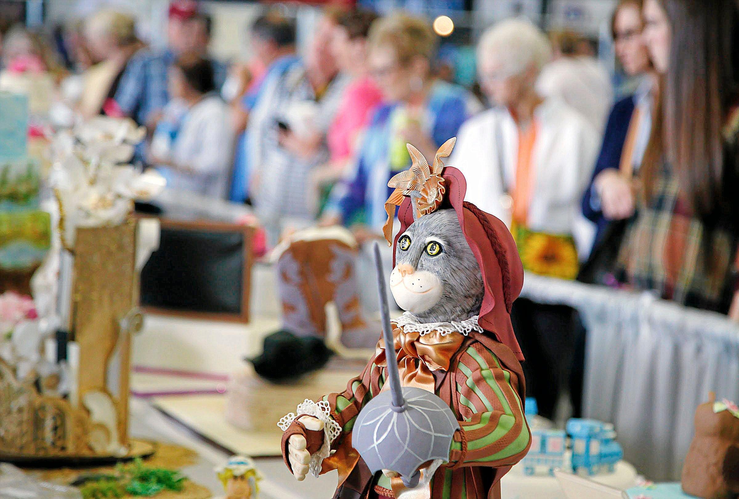 Photo gallery: Sugar Art Show at the Tulsa State Fair