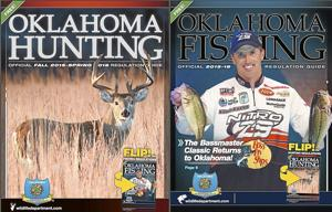 Oklahoma hunting and fishing guide available online for Oklahoma non resident fishing license