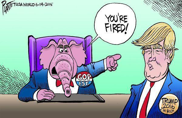 Cartoon gallery: Bruce Plante on Donald Trump and Hillary ...