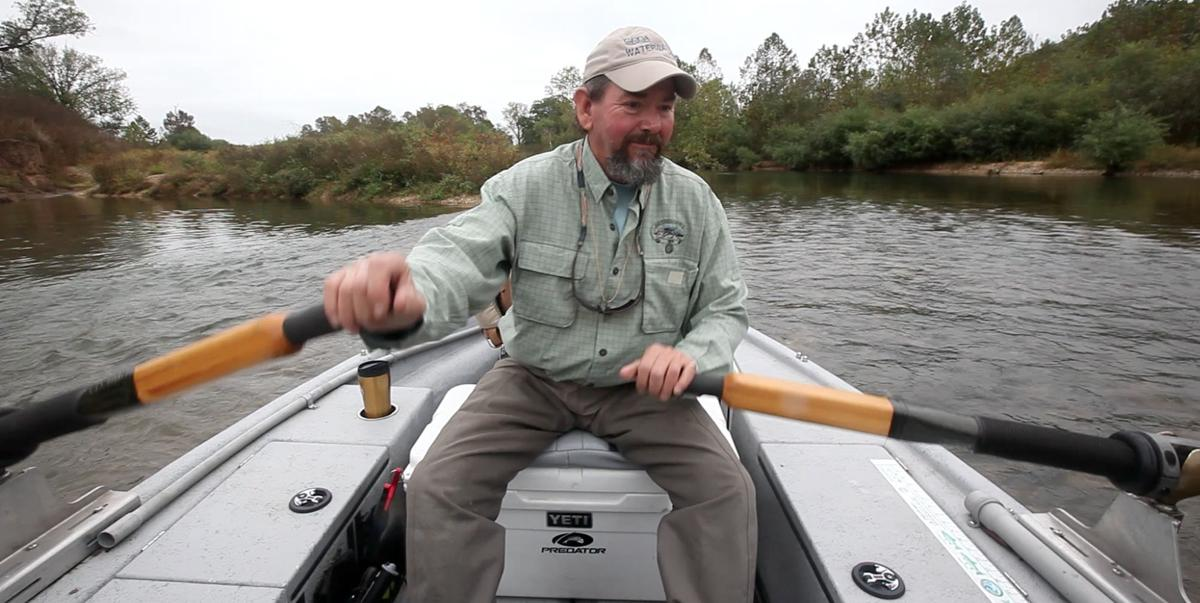 Kelly bostian upper illinois river float leads to magical for Trout fishing illinois