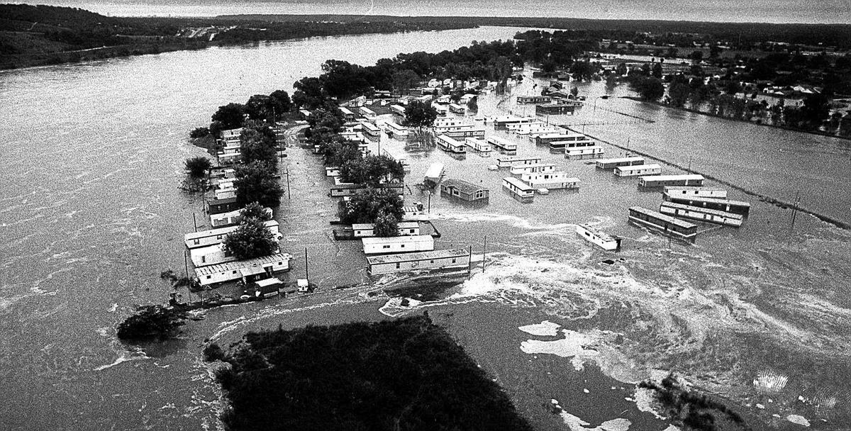 Throwback Tulsa Arkansas River Unleashed Fury In 86