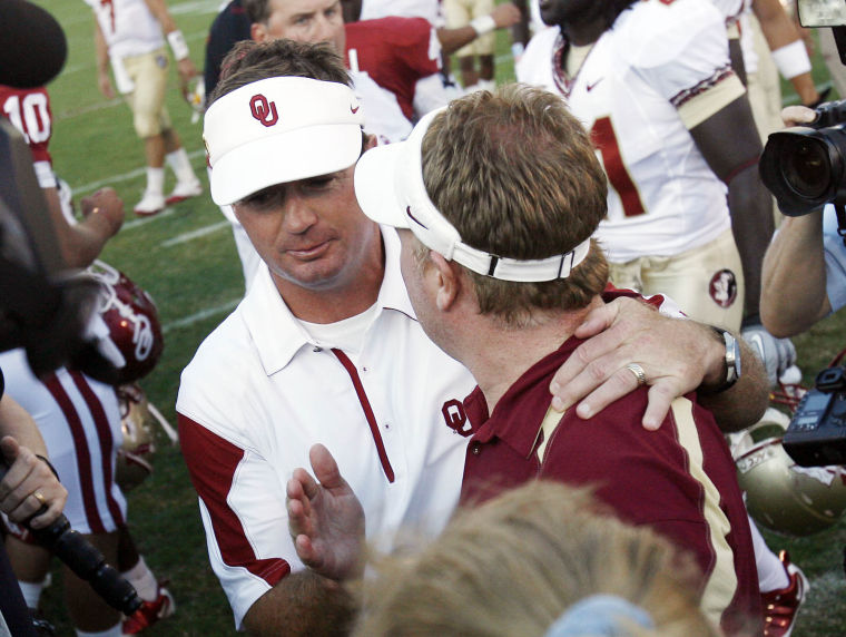 Bob Stoops Brothers ou Sports Bob Stoops Visits