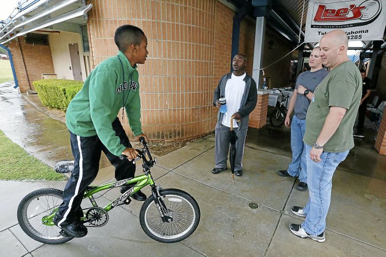 Bikes Tulsa repaired by Tulsa Police